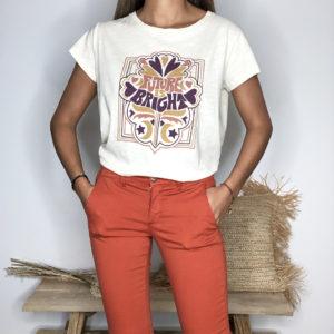 Tee-shirt Fleur - One Tee