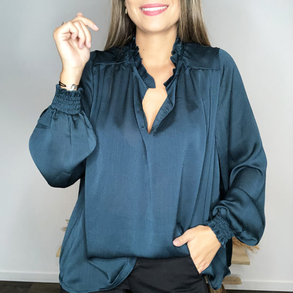 Blouse Alison - Verte