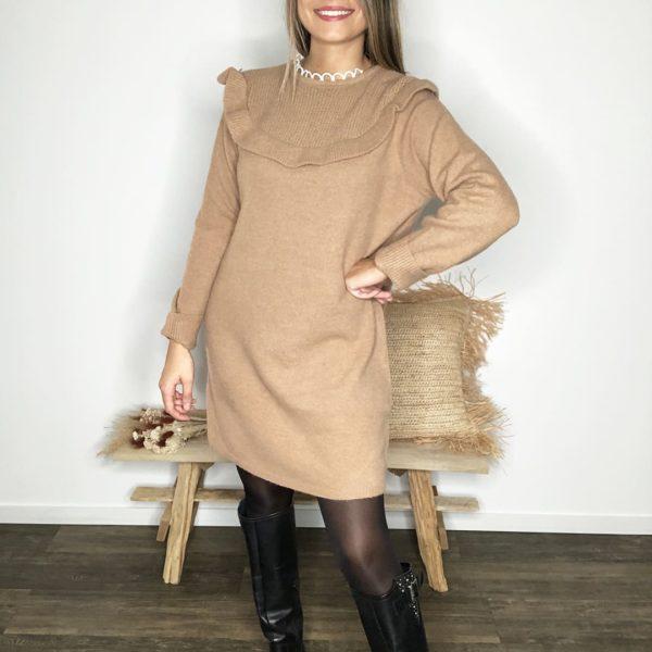 Robe pull - Camel