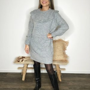 Robe pull - Grise