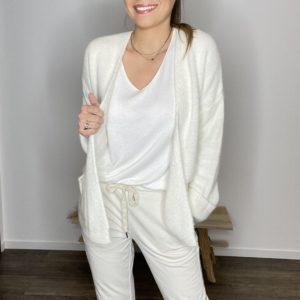 Gilet Rima - Ecru