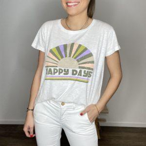 Tee-shirt Paloma - Happy