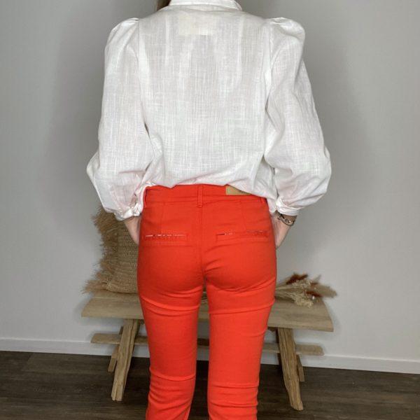 Pantalon chino Coquelicot - Happy