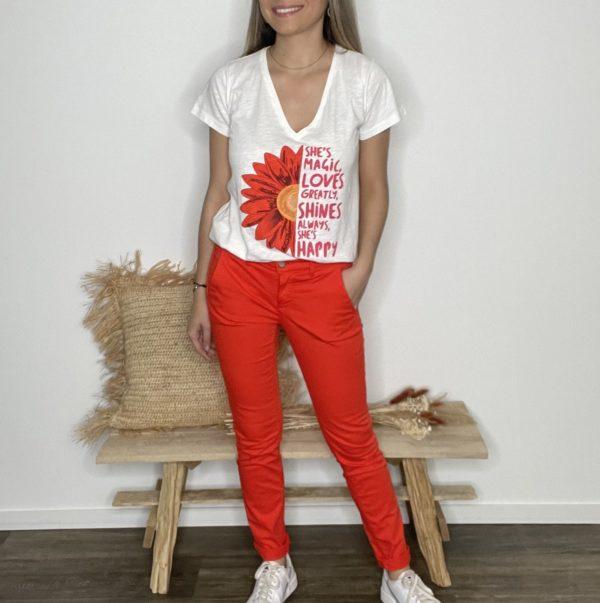 Tee-shirt Espiguette - Happy