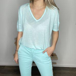Tee-shirt Ines lagon - Happy