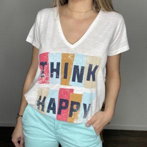 Tee-shirt Sallecia - Happy