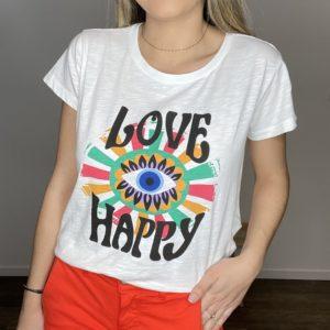 Tee-shirt Navaro - Happy