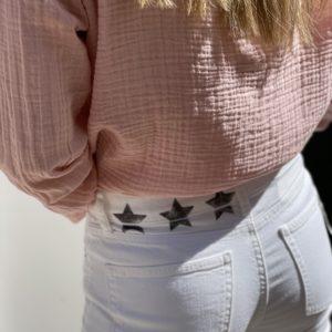 Jeans Colette blanc - Five Jeans