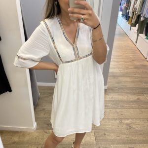 Robe Amy - Blanche