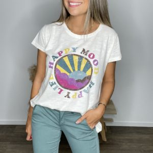 Tee-shirt Happymood - Happy